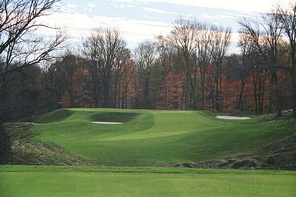 The excellence of Camargos one shot holes help separate the course in quality from most othersas evidenced here by the Eden 5th.