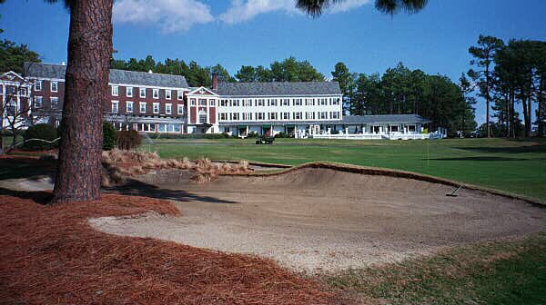 The Home Green at Mid Pines.