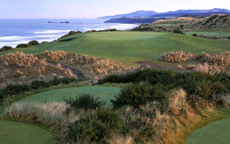Perfect image of bandon dunes golf