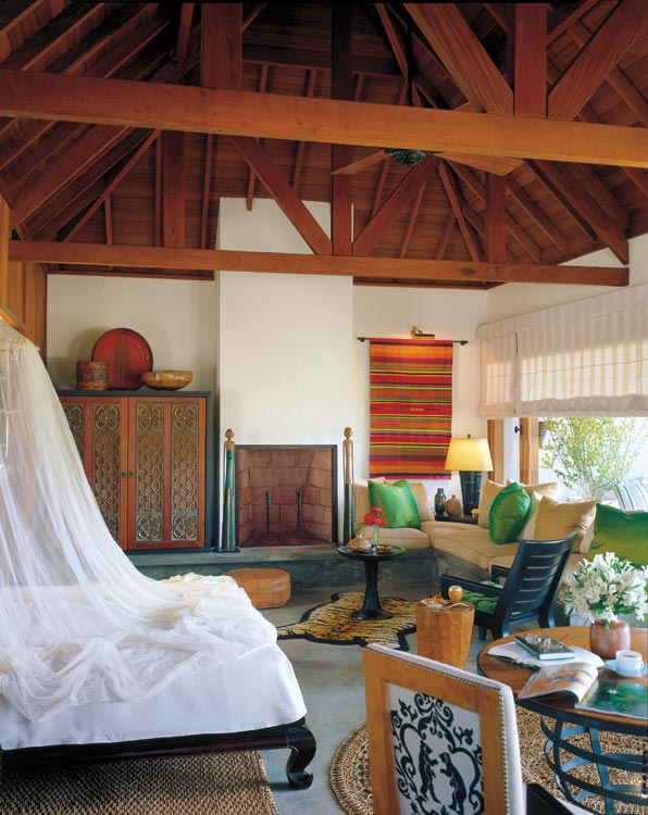 The bungalows at Carmelo are the perfect retreat.
