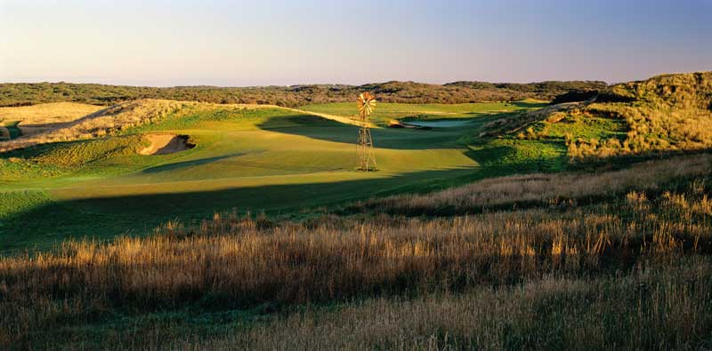 Bob Harrisons design for Greg Norman at National Moonah may well be their finest.