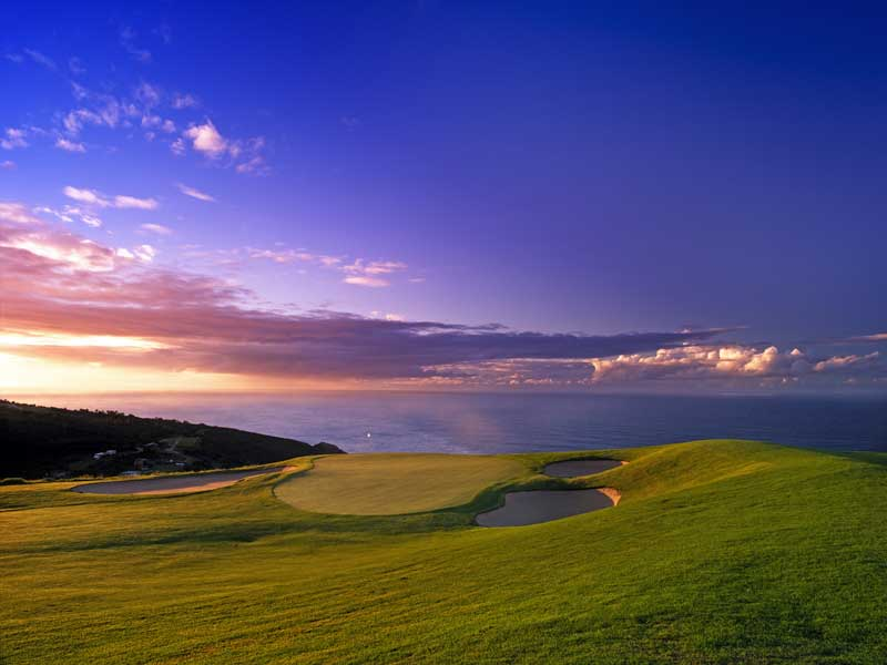 The seventeenth at Oubaai.