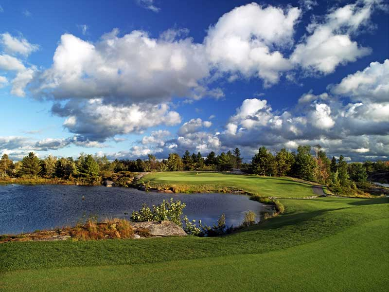 The ninth at Oviinbyrd in Canada.