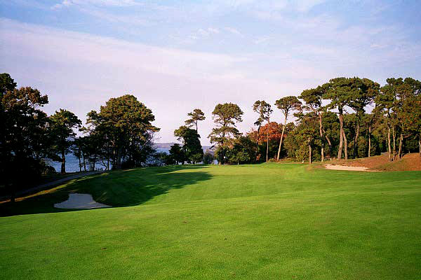 …taken in 2003 whereby the trees masked the natural splendour of the hole's setting.
