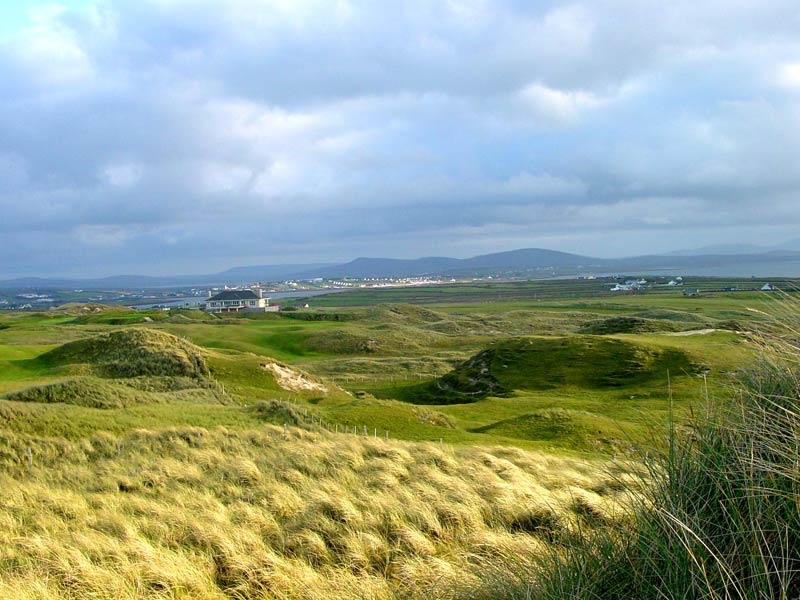 The thrilling property for the new nine at Carne Golf Club.
