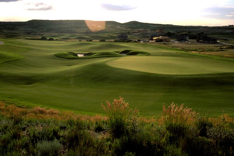 The 10th hole at Pradera