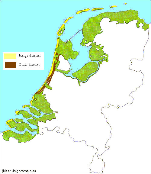 The Netherlands enjoys a wide dune line for its coastline.