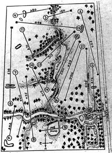 Glen Echos routing circa 1904.