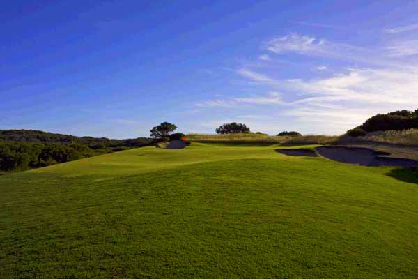 The eleventh - another natural par three.