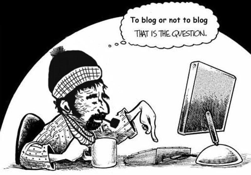 Ian on his blog!