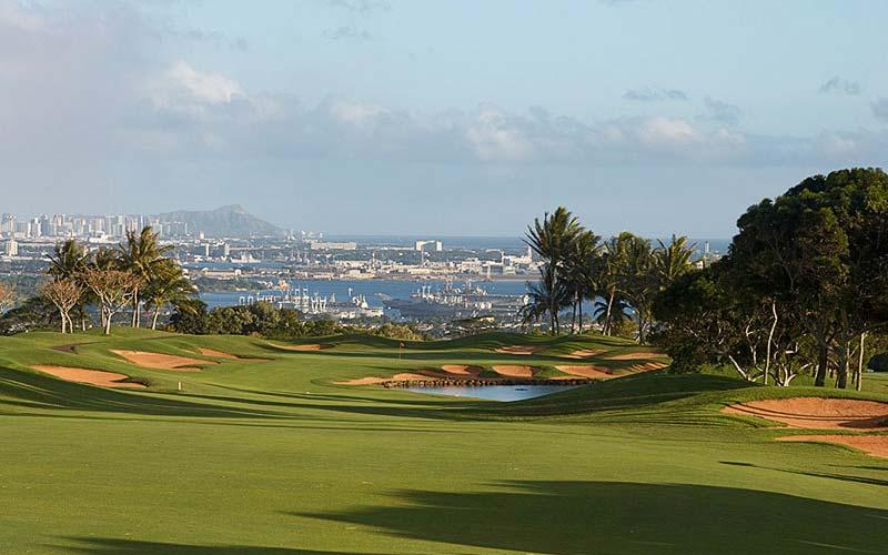 Honolulu provided the inspiring backdrop at Royal Kunia.