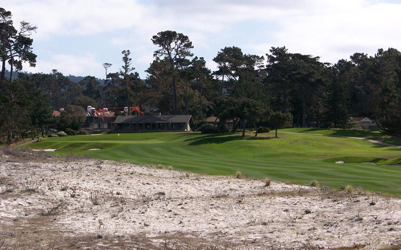 Monterey Peninsula, Dunes Course at Monterey  Peninsula, Seth Raynor, Rees Jones