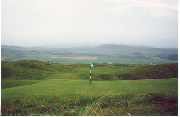 Who could ever grow tired of this course? The fifth at Machrihanish.