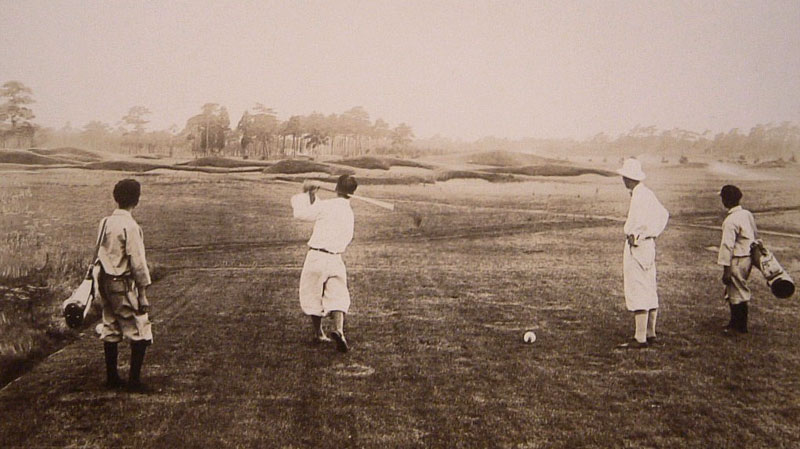 The second at Tokyos Asaka course. (Photo by Tokyo GC 1932)