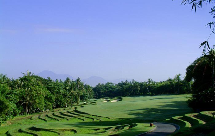 Greg Norman Design Team Headed by Bob Harrison built Nirwana Bali Golf Course