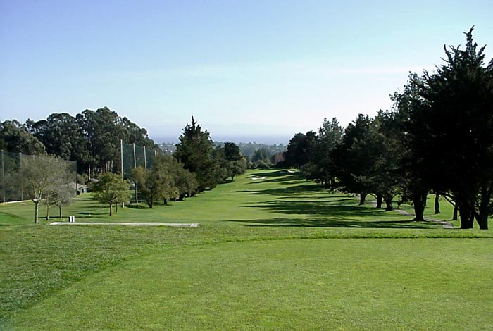 This view of the 1st in 2001 shows how  trees had obscured too much of the design.