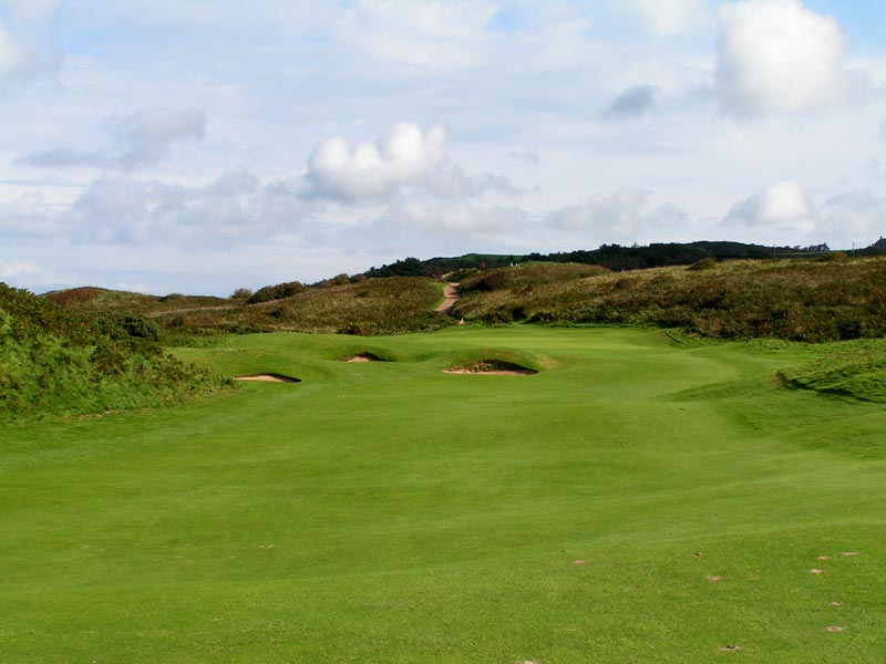Royal Portrush, Dunluce Golf Course at Portrush, Harry Colt