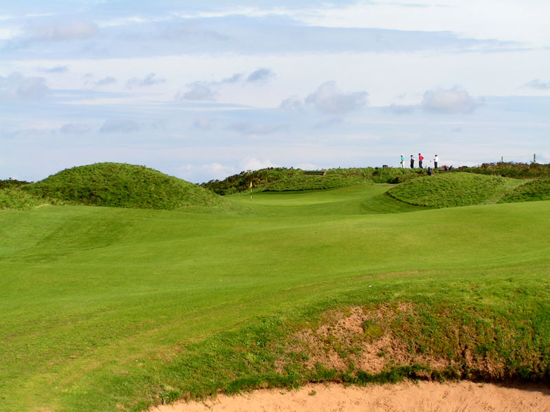 Royal Portrush, Dunluce Golf Course at Portrush, Harry Colt