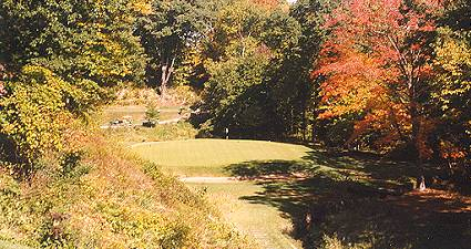 The twelfth at Shoreacres is an attractive Short hole.