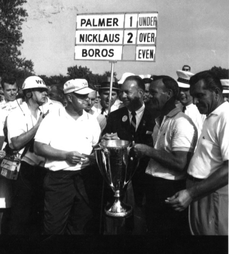 Palmer and Nicklaus battled at Beverly on more than one occasion...