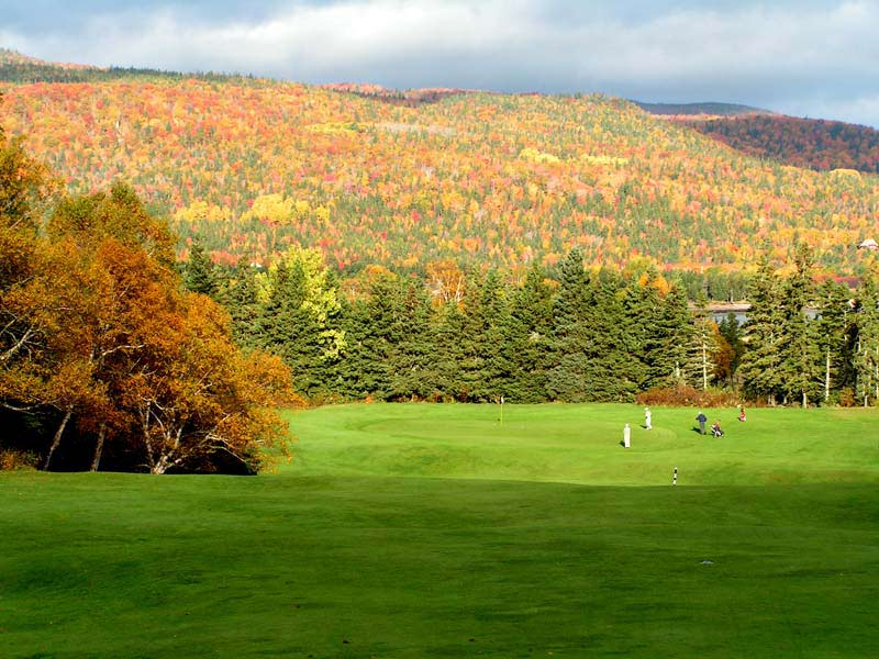 Cape Breton Highlands, Golf on Cape Breton, Stanley Thompson