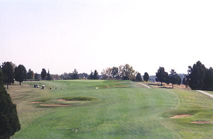 Rosss French Lick is in Tims home state of Indiana - pictured here is the mighty 18th.