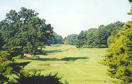 Five at Merion from the new 470 yard tee.