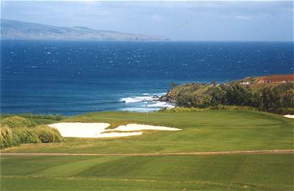 The picture perfect 11th at Kapalua.