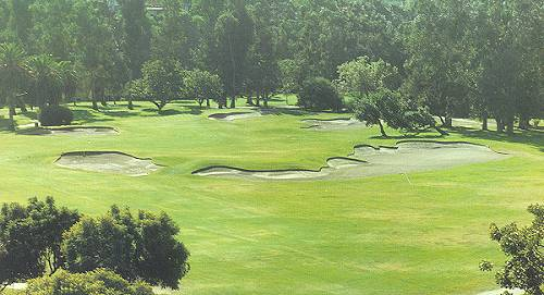 George Thomass Riviera - the 10th (pictured) is often sited as the finest short two shot hole in the country