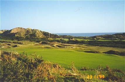 Strantzs experiences at County Down influenced his work at Royal New Kent.