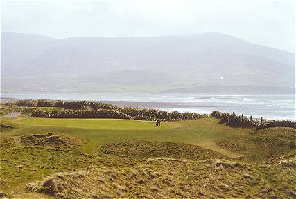 Mulcahys Peak - the 17th at Waterville.
