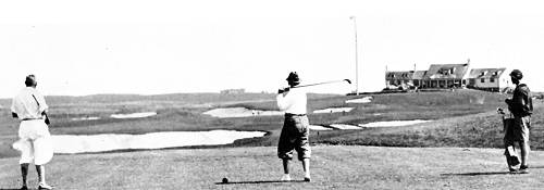 The 430 yard 18th at Montauk Downs