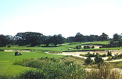 The fourth at Fazios Pine Barrens course at World Woods.