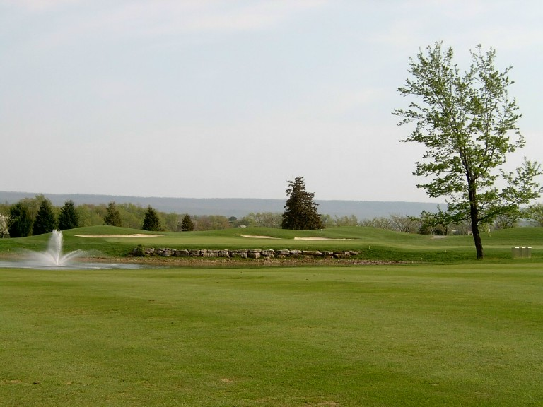 Penn State Blue Course 2005 – Fourteenth Hole (Photo by Author)