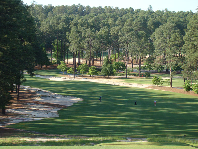 One of the best holes in Moore County - Pinehurst No.2 would love to claim it.