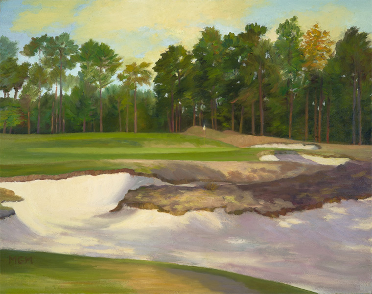 """The Imposing and Very Penal Bunker of #16, Pinehurst No. 2"""
