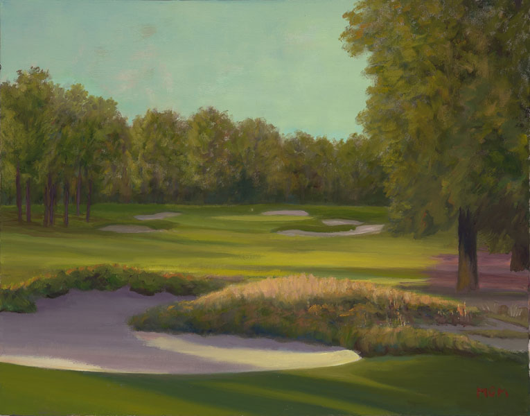 """The Deceptive Peacefulness of Pinehurst #2, 16th Hole"""