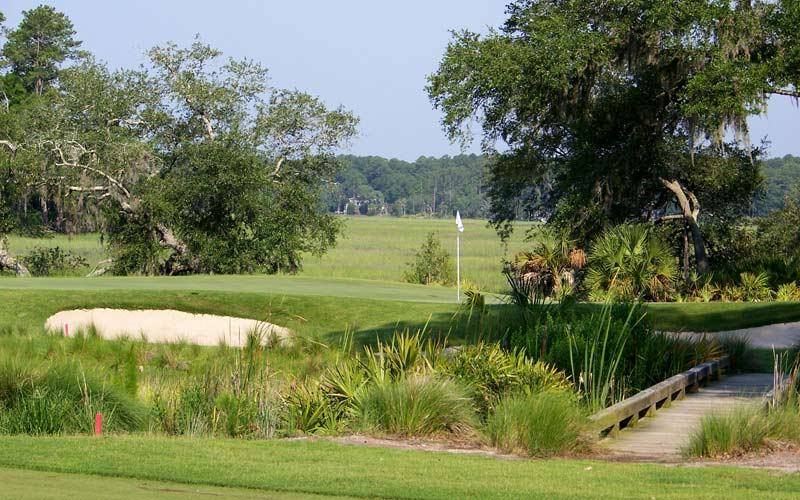The charming May River exudes Low Country ambience.