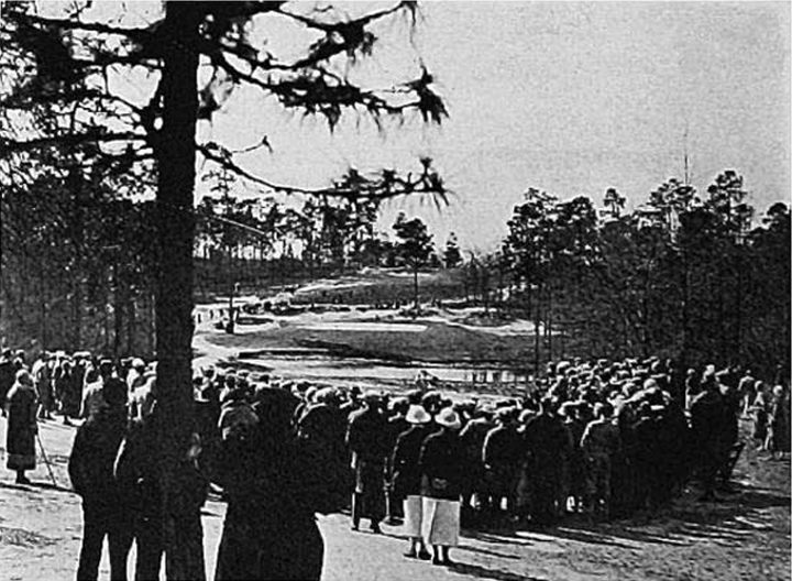 The original 14th (today's 7th) during an early North-South competition.