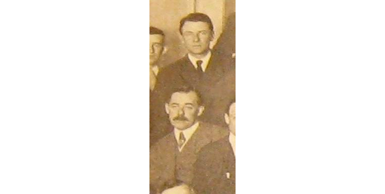 Wilson and Tillinghast at GAP dinner in January 1915