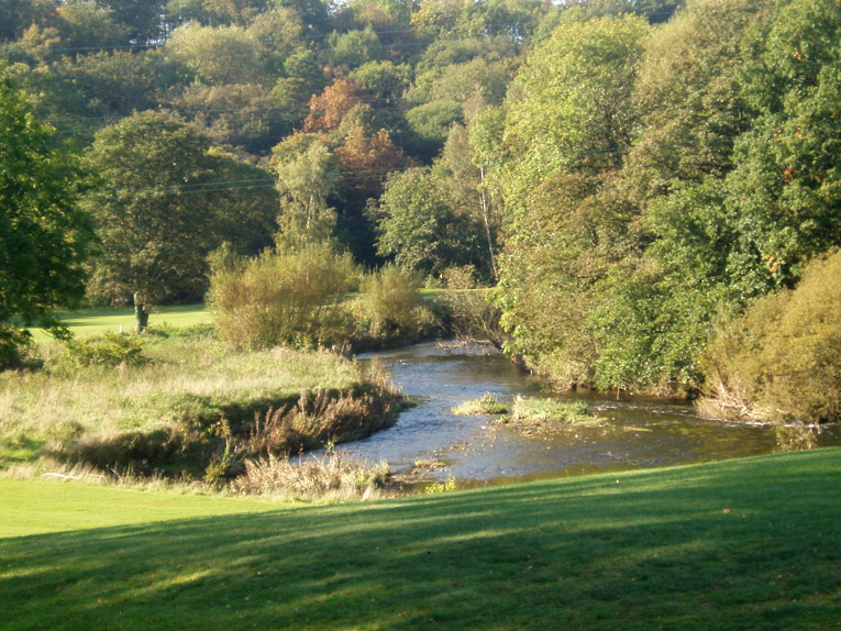 The river is a feature rarely found in English golf and it brings a real sparkle to the proceedings. Its presence was once felt far greater throughout the course. The unblocked view from the sixteenth tee shows its true majesty.