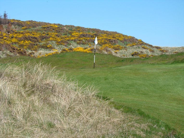 Save time for the short game area. May is a particularly good time to be there as the gorse is in full bloom.