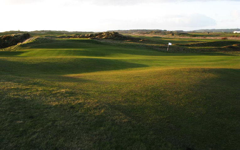 Golfers who think a green should be receptive will have conniption fits once they climb the final ridge and gain a view of the fifteenth putting surface.