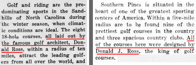 From 1929 and 1932 Pilot articles.