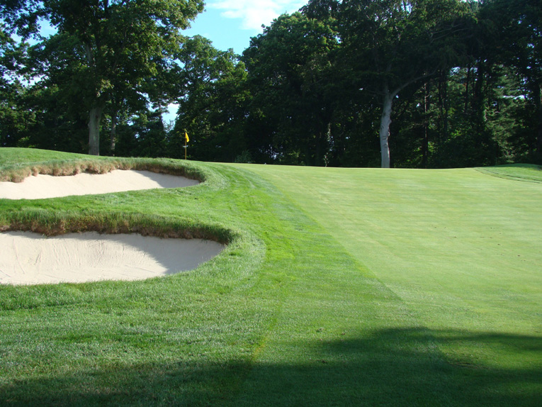 Imagine trying to hit this firm, elevated target from 200 plus yards away! Short is no good and long might be worse.