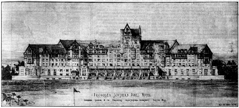 The unbuilt hotel was to be adjacent to Pine Needles and feature two courses.
