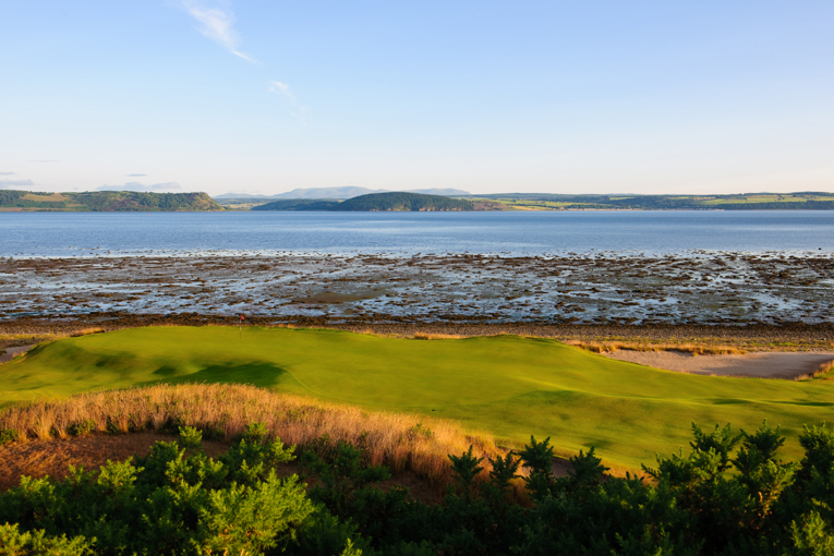 Castle Stuart represents the best of both worlds: links golf but without tall dunes that block long views.