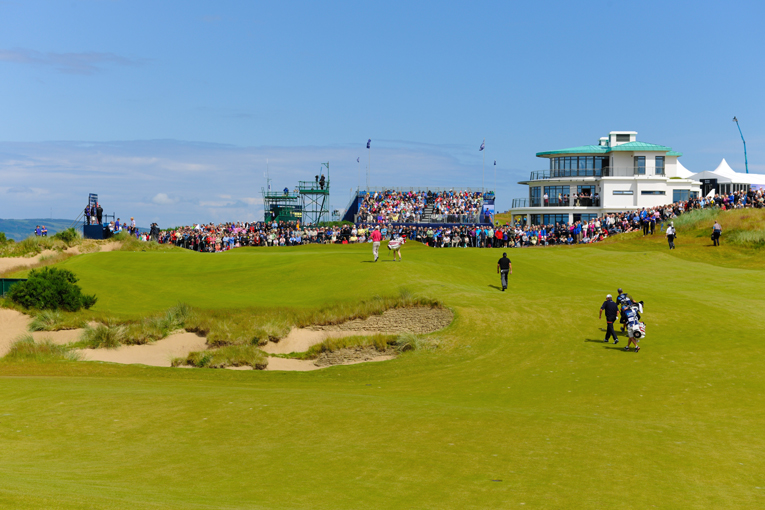 Play during the 2011 Scottish Open.