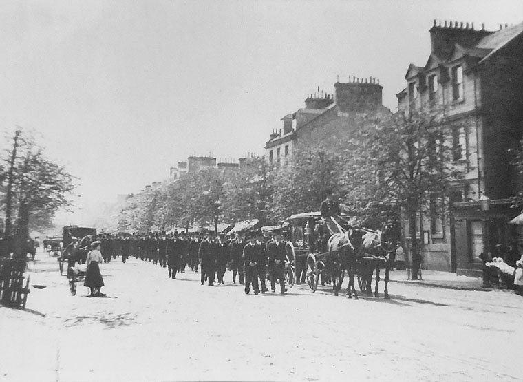 Old Tom Morris passed away in 1908. The size of the funeral procession only begins to hint as to what he meant to the town of St. Andrews and to golf as a whole.