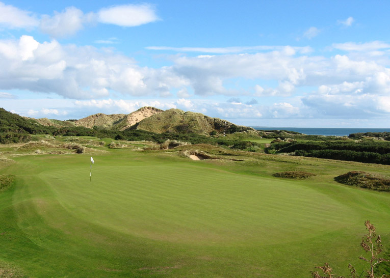 Courses like Royal County Down require a careful study of the landscape